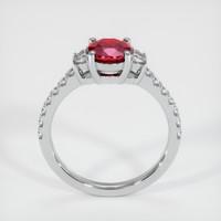 1.18 Ct. Ruby  Ring - 14K White Gold