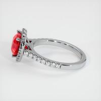 3.02 Ct. Ruby  Ring - Platinum 950