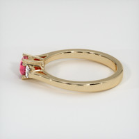 1.04 Ct. Ruby  Ring - 14K Yellow Gold