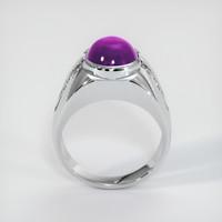 6.66 Ct. Ruby  Ring - Platinum 950