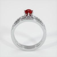 0.55 Ct. Ruby  Ring - Platinum 950