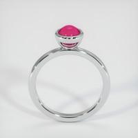 1.69 Ct. Ruby  Ring - 18K White Gold